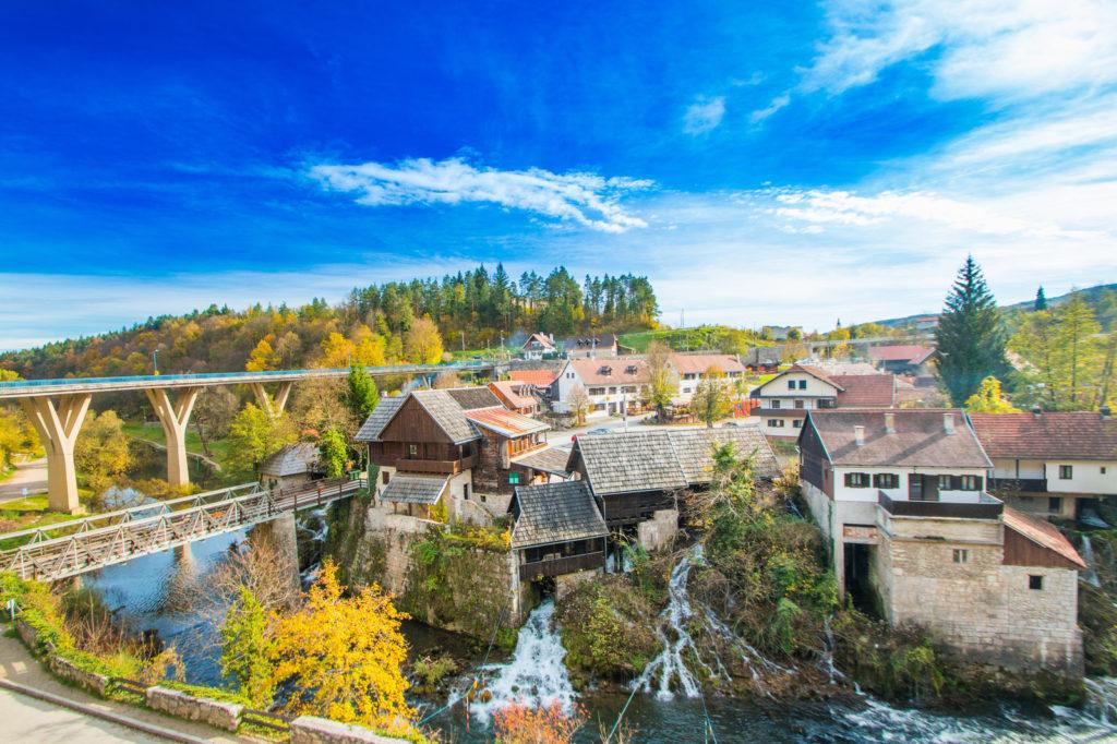 Rastoke, Slunj, Croatia, Mjera 6.4.1. - Potpore za ulaganje u razvoj nepoljoprivrednih djelatnosti u ruralnim područjima