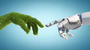 Jačanje konkurentnosti poduzeća ulaganjem u digitalnu i zelenu tranziciju, Zelena ruka doiruje robotsku ruku
